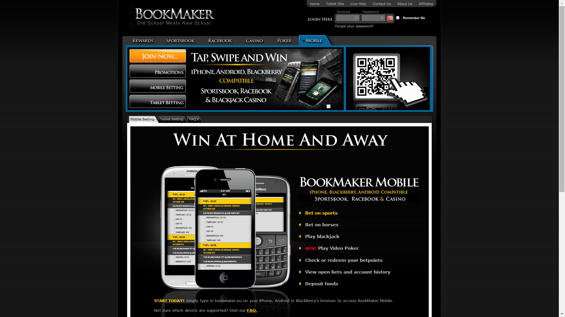 Bookmaker onlinegambling the casino at empire