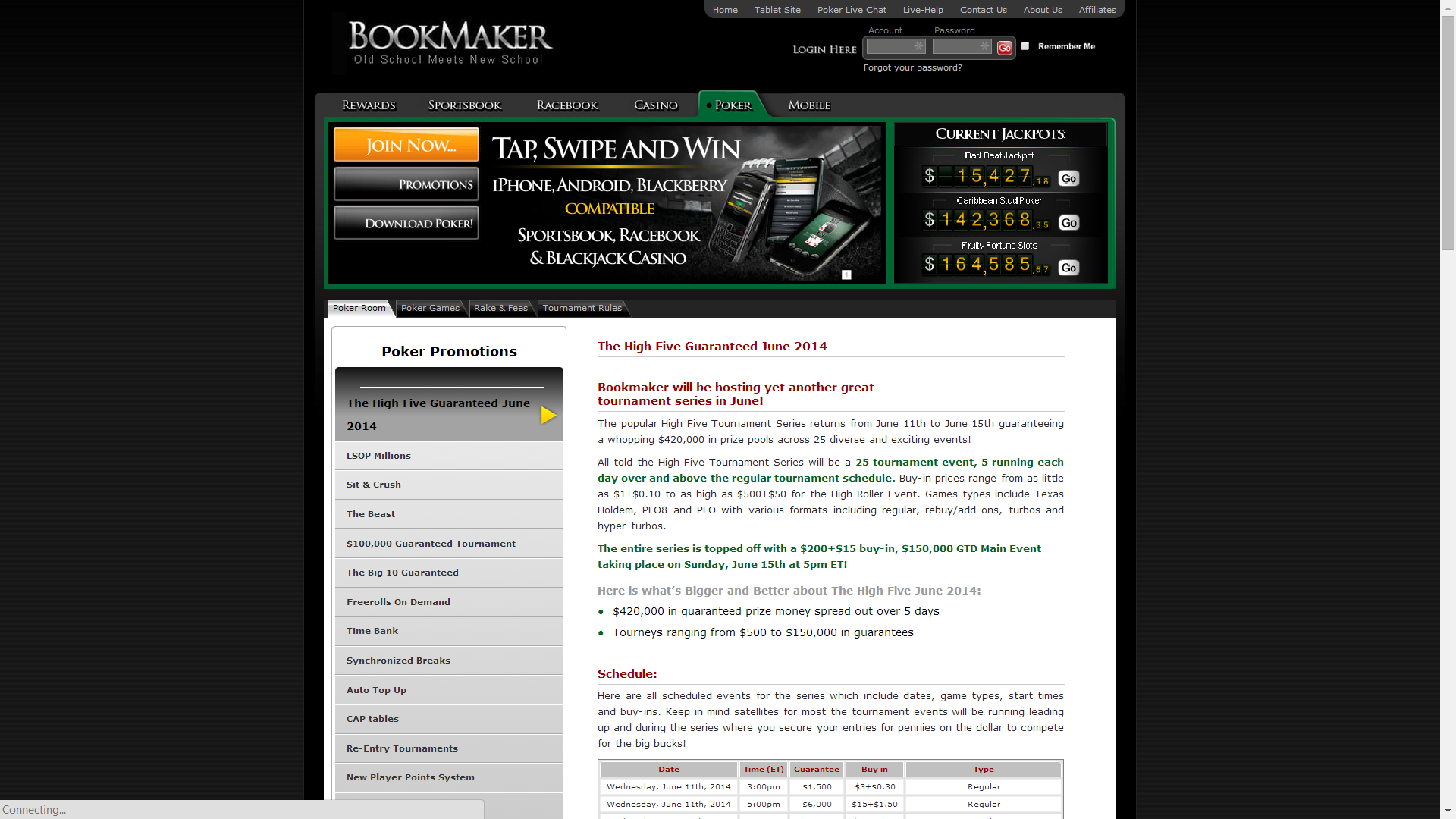 betting bookmaker sportsbook review